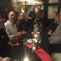 Guna Petrova, my husband Bob Downing, Marianne Duijusst, Gitte Klitgaard, Jack Gregory, Janet Gregory, Stephan Kämper