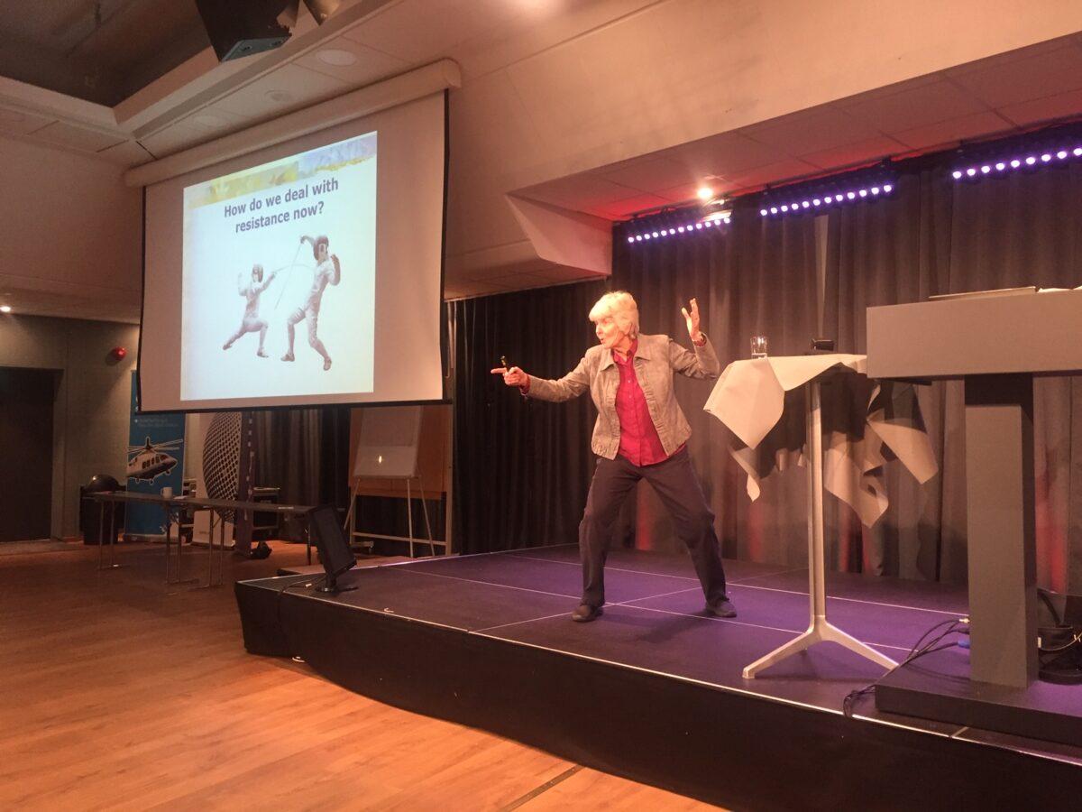 Linda Rising at BoosterConf 2019
