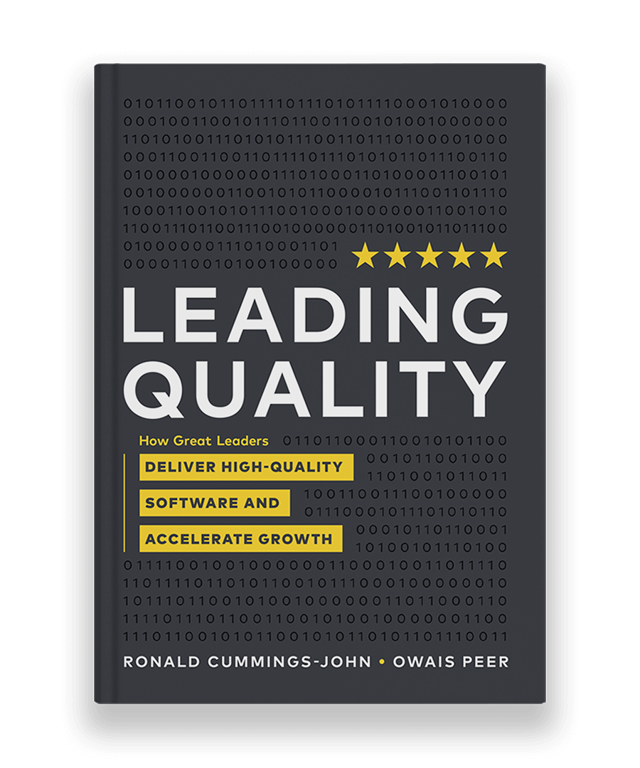 Leading Quality book