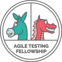 Donkey and dragon Agile Testing Fellowship logo