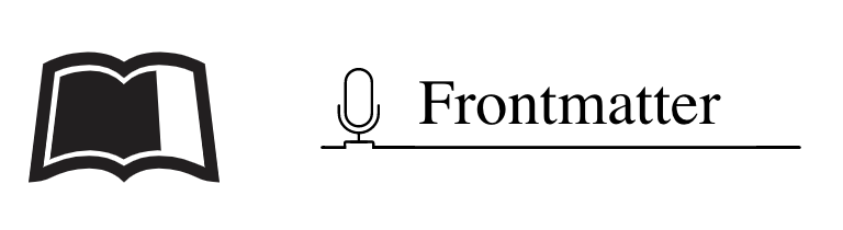 FrontMatter podcast